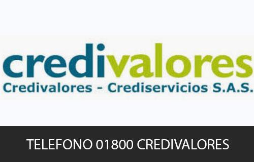 Teléfono de Servicio al cliente Credivalores