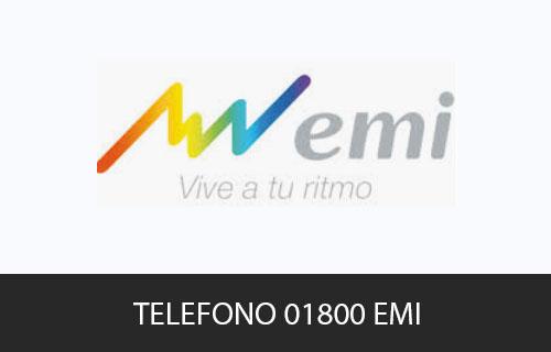 Teléfono de Servicio al cliente Emi