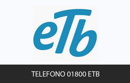Teléfono de Servicio al cliente ETB