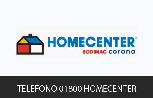Teléfono de Servicio al cliente Homecenter
