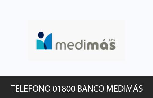 Teléfono de Servicio al cliente Medimás EPS