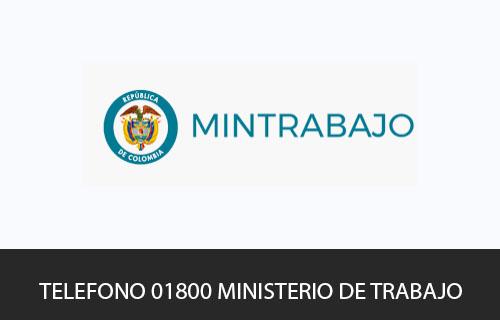 Teléfono de Servicio al cliente Ministerio del Trabajo