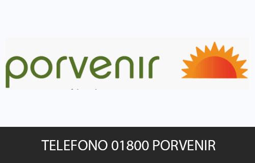 Teléfono de Servicio al cliente Porvenir