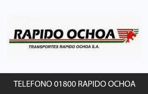 Teléfono de Servicio al cliente Rapido Ochoa