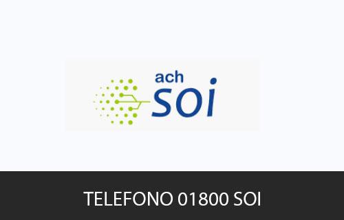 Teléfono de Servicio al cliente SOI