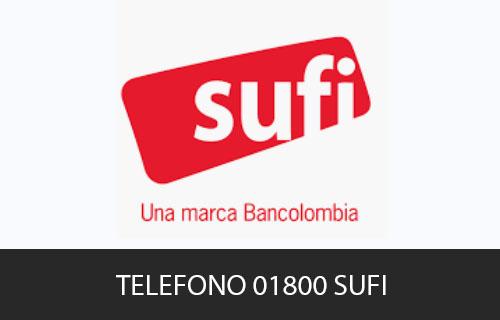 Teléfono de Servicio al cliente Sufi