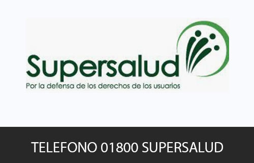 Teléfono de Servicio al cliente Supersalud